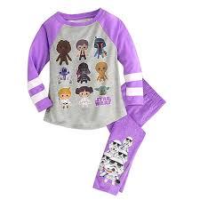 amazon com star wars sleep set pajamas for girls clothing