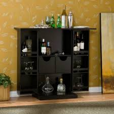 Small Locked Liquor Cabinet by Amazon Com Stylish Bar Cabinet Mini Home Liquor Wine Glass