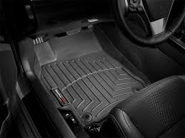 Amazon.com: WeatherTech Custom Fit Front FloorLiner For Honda Pilot ...