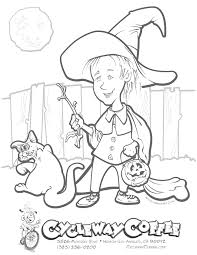Halloween Witch N Cat