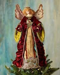 Katherines Collection Nativity Angel Christmas Tree Topper