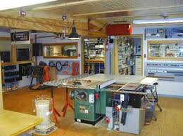 Main Wood Working Room Looking North Towards Electronics And