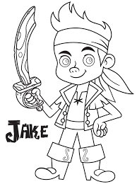 Disney Junior Coloring Pages Jake