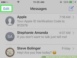 4 Ways to Hide Text Messages on Your iPhone wikiHow