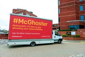 100 Seedling Truck McGhoster Campaign To Bring Light To McDonalds Poor Welfare