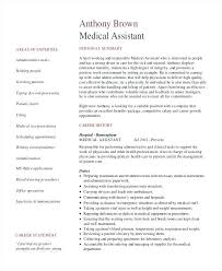 Senior Administrative Assistant Resume Template For Medical Examples