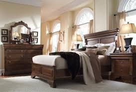 Modern Brown Wood Bedroom Furniture Set The Grey Rug Also Beige