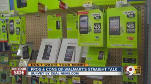 Pros and cons of Walmart s Straight Talk plans
