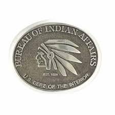 company bureau heritage company bureau of indian affairs buckle