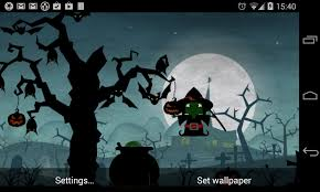 Free Halloween Ecards Interactive by Halloween Live Wallpaper World Android Apps On Google Play