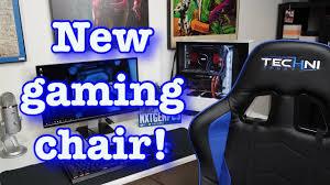 Techni Sport Gaming Chair!