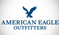 American Eagle Outfitters Teen Store Logo Design