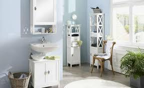 badezimmer spiegelschrank landhausstil weiß neu