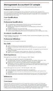 Sample Resume For Restaurant Management Trainee Accountant Myperfect