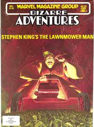 100 Trucks Stephen King From Book To Screen The Lawnmower Man Flickchart The Blog