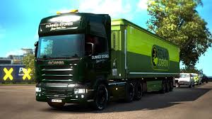 100 Truck Stores Dunnes Skin RJL Scania R Euro Simulator 2 Mod YouTube