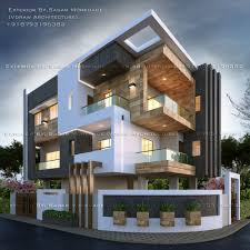 100 Architectural Designs For Residential Houses Modern House Bungalow Exterior By ArSagar Morkhade