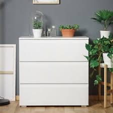 details zu kommode schubkastenkommode schlafzimmer schrank weiß grifflos modernes design