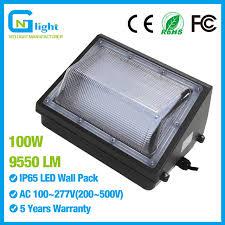 100watt led wall pack light 350 400w hps mh bulb replacement