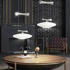 elegante hängeleuchte mit halogen leuchtmittel zeles 1