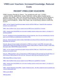 Vrbo.com Vouchers By Sam Caterz - Issuu