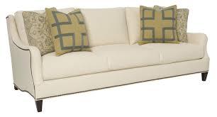 Bernhardt Foster Leather Sofa by Living Room Bernhardt