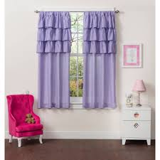 Purple Ruffle Curtain Panel by Better Homes And Gardens Arrows Boys Bedroom Curtain Panel
