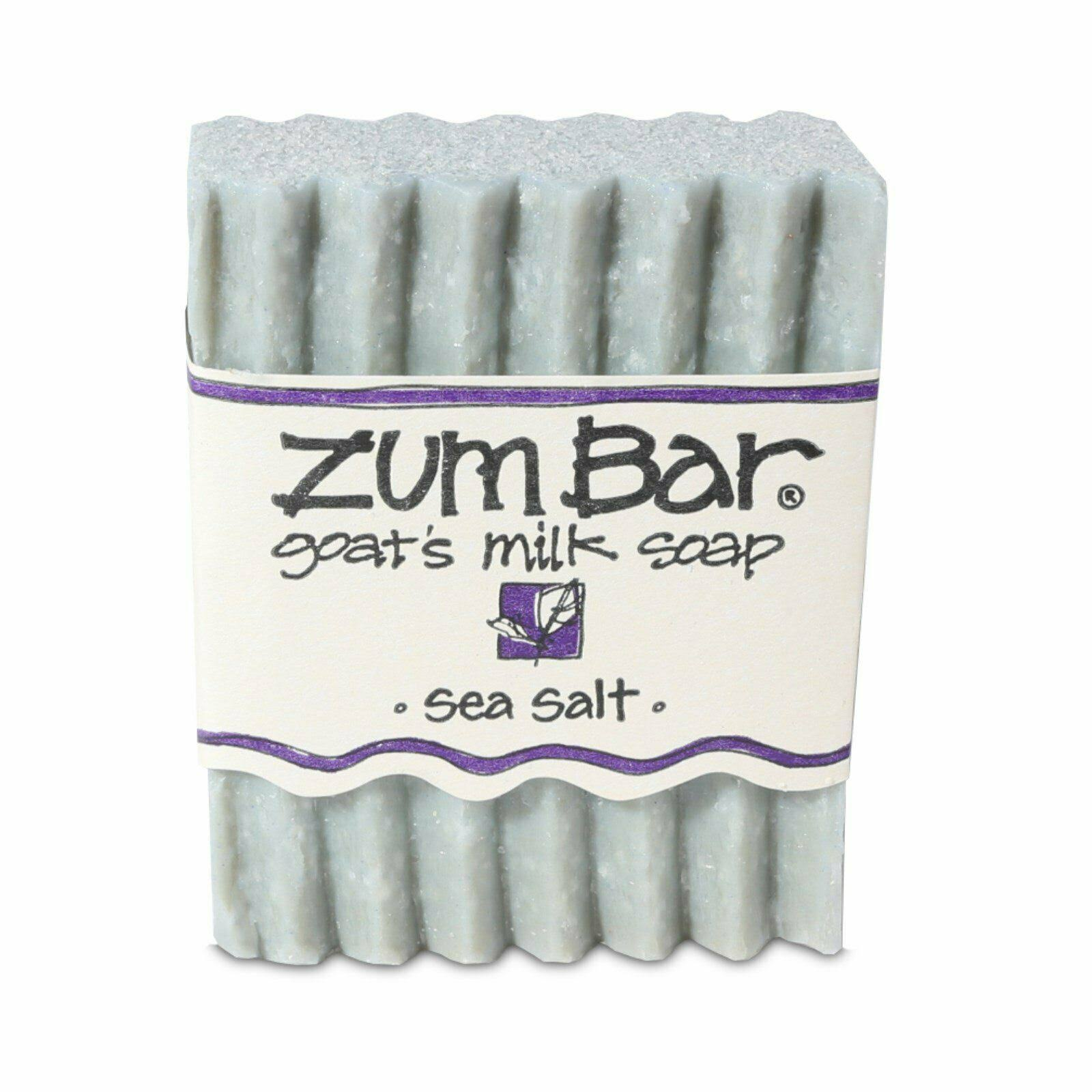 Indigo Wild: Zum Bar Goat's Milk Soap, Sea Salt