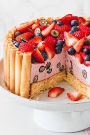 erdbeer mit blaubeeren leicht und lecker