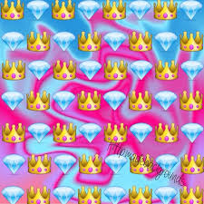 Tumblr Wallpaper Queen Emoji Emojibackground Backgrounds Pinterest Of Cute For All