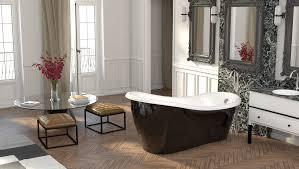 casa padrino luxus jugendstil badewanne schwarz weiß 170 x 80 x h 70 5 cm freistehende retro antik badewanne badezimmer möbel