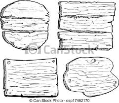 Drawn Planks Clipart 13