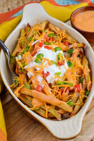 Slimming Eats Low Syn Loaded Nacho Fries