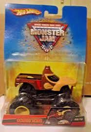 100 Donkey Kong Monster Truck DONKEY KONG 2008 Hot Wheels MONSTER JAM 6870 Rare ORIGINAL