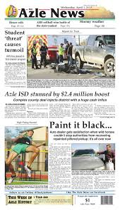 The Azle News By Admin - Issuu Universities Bloomberg Professional Services Lufker Airport Lufthansa A380 Places Directory Lufkin Truck Driving Academy Best Image Kusaboshicom Truck Driving School Teams Up With Transportation Firms In Mack Trucks Pilot Flying J Travel Centers Games Unblocked Memes Cr England Jobs Cdl Schools Transportation Sing Men Of Texas A1 Auto Repair Tire Shop Alignment Traing Practice Parallel Parking Texas Youtube