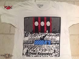 Dead Kennedys Halloween Shirt by Dead Kennedys Shirt White Kamos T Shirt