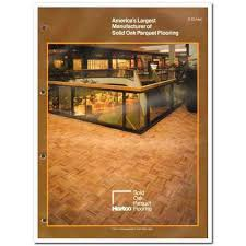 tibbals flooring company 1982 hartco solid oak parquet vintage