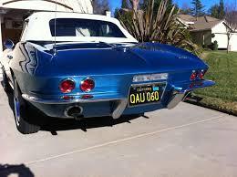 California black & yellow license plate paint CorvetteForum