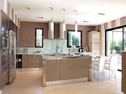 deco cuisine taupe cuisine marron taupe photos de design d intérieur et décoration