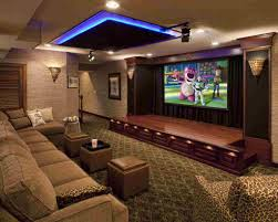 lighting style ideas warm lighting for media room white
