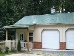 garage kits with living quarters pole barn metal buildings floor