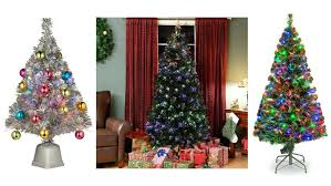 Optic Fiber Christmas Trees Best Tree Lit Artificial 4ft Fibre Amazon