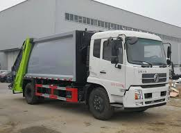 100 Customize A Truck Compactor 10000 Liters Rear Loading Garbage
