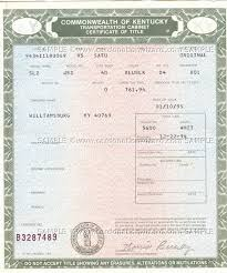 Ky Transportation Cabinet Forms by Commonwealth Of Kentucky Transportation Cabinet Certificate Of