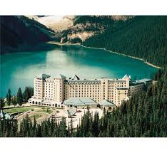 100 Skyward Fairmont 4 NIGHT STAY AT FAIRMONT CHATEAU LAKE LOUISE ALBERTA WITH AIRFARE FOR 2 PEOPLE
