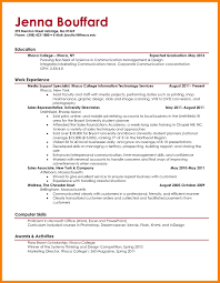 Resume Sample College Studentcollege Template 22 Job Examples For Students Good