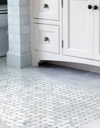 decoration basketweave floor tile stunning bathroom composed