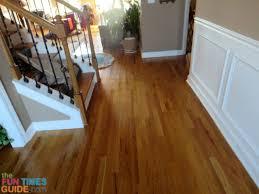 Applying Polyurethane To Hardwood Floors Youtube by Using Bona Refresher As A Floor Polish Instead Of Using Floor Wax
