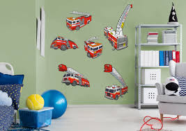 Tonka: Fire Truck Collection - Giant Officially Licensed Removable ... Fireman Wall Sticker Red Fire Engine Decal Boys Nursery Home Firetruck Childrens Wallums Truck Firefighter Vinyl Bedroom Stickerssmuraldecor Really Remarkable Fun Kids Bed Designs And Other Function Amazoncom New Fire Trucks Wall Decals Stickers Firemen Ladder Patent Print Decor Gift Pj Lamp First Responders 5 Solid Wood City New Red Pickup Metal Farmhouse Rustic Decor Vintage Style Fire Truck Ideas And Birthday Decoration Astounding Dalmation Name Crazy Art Remodel Etsy
