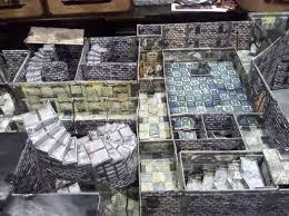 Making 3d Dungeon Tiles by Strahd Castle Ravenloft In 3d Glory